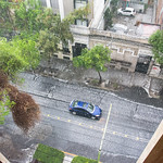 Hail; Mexico City; Rain